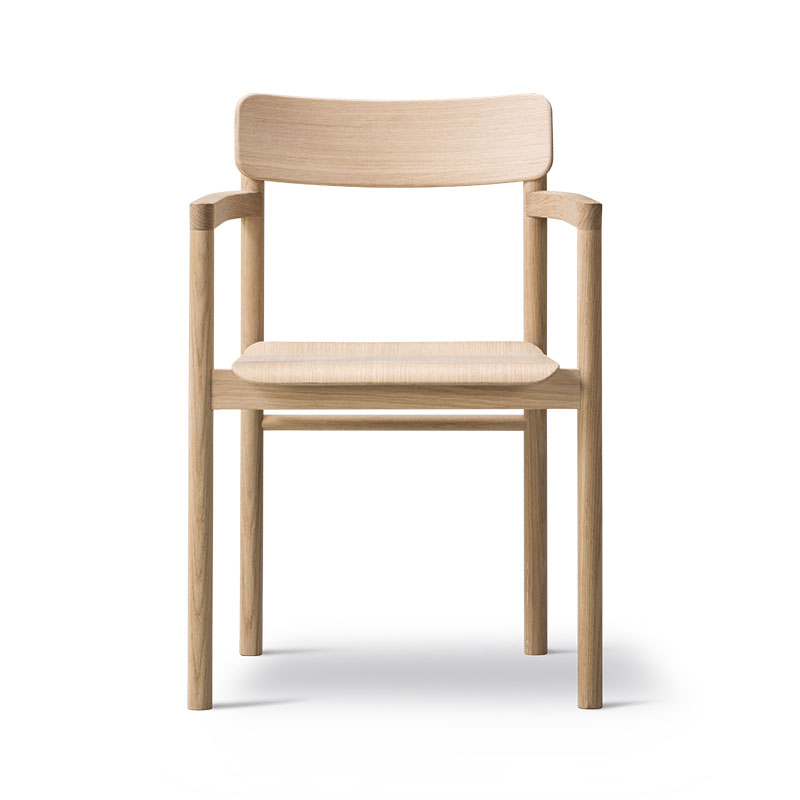 Fredericia Post Chair by Cecilie Manz Olson and Baker - Designer & Contemporary Sofas, Furniture - Olson and Baker showcases original designs from authentic, designer brands. Buy contemporary furniture, lighting, storage, sofas & chairs at Olson + Baker.