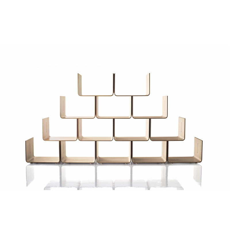 Magis_Elysee_Shelving_System_by_Pierre_Paulin_Lifeshot Olson and Baker - Designer & Contemporary Sofas, Furniture - Olson and Baker showcases original designs from authentic, designer brands. Buy contemporary furniture, lighting, storage, sofas & chairs at Olson + Baker.