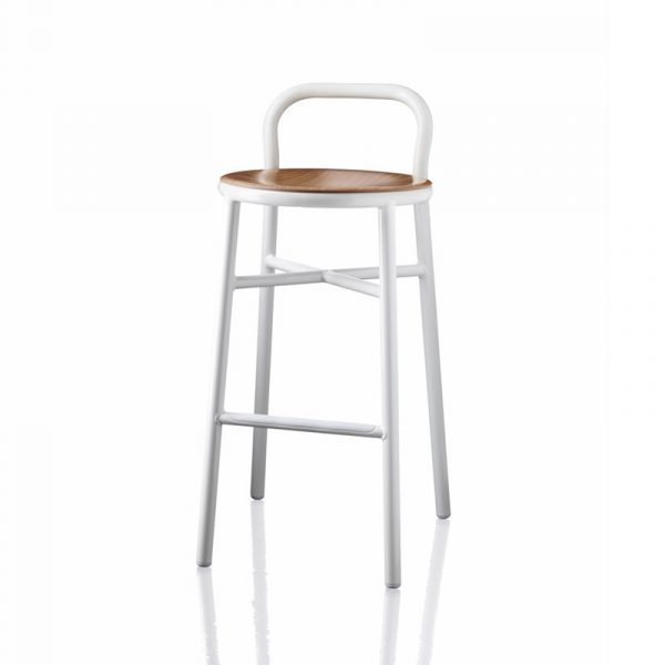 Pipe High Bar Stool