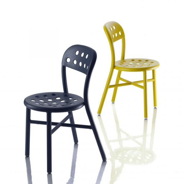 Pipe Stacking Outdoor Chair Set of Two