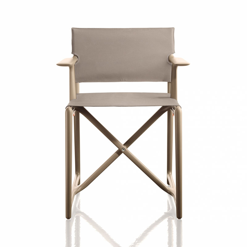 Magis Stanley Folding Director's Chair by Philippe Starck Olson and Baker - Designer & Contemporary Sofas, Furniture - Olson and Baker showcases original designs from authentic, designer brands. Buy contemporary furniture, lighting, storage, sofas & chairs at Olson + Baker.