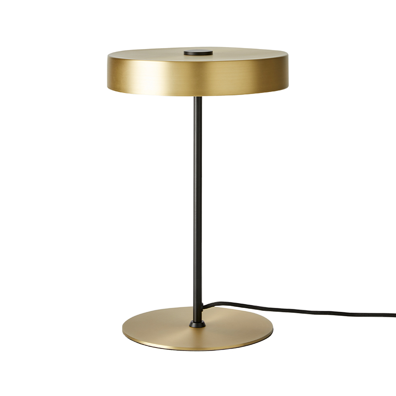 Aromas Ambor Table Lamp in Matt Brass Set of Two by JF Sevilla Olson and Baker - Designer & Contemporary Sofas, Furniture - Olson and Baker showcases original designs from authentic, designer brands. Buy contemporary furniture, lighting, storage, sofas & chairs at Olson + Baker.