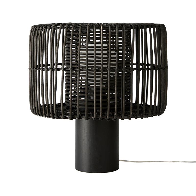 Aromas Hedula Table Lamp in Black Set of Two by AC Studio Olson and Baker - Designer & Contemporary Sofas, Furniture - Olson and Baker showcases original designs from authentic, designer brands. Buy contemporary furniture, lighting, storage, sofas & chairs at Olson + Baker.
