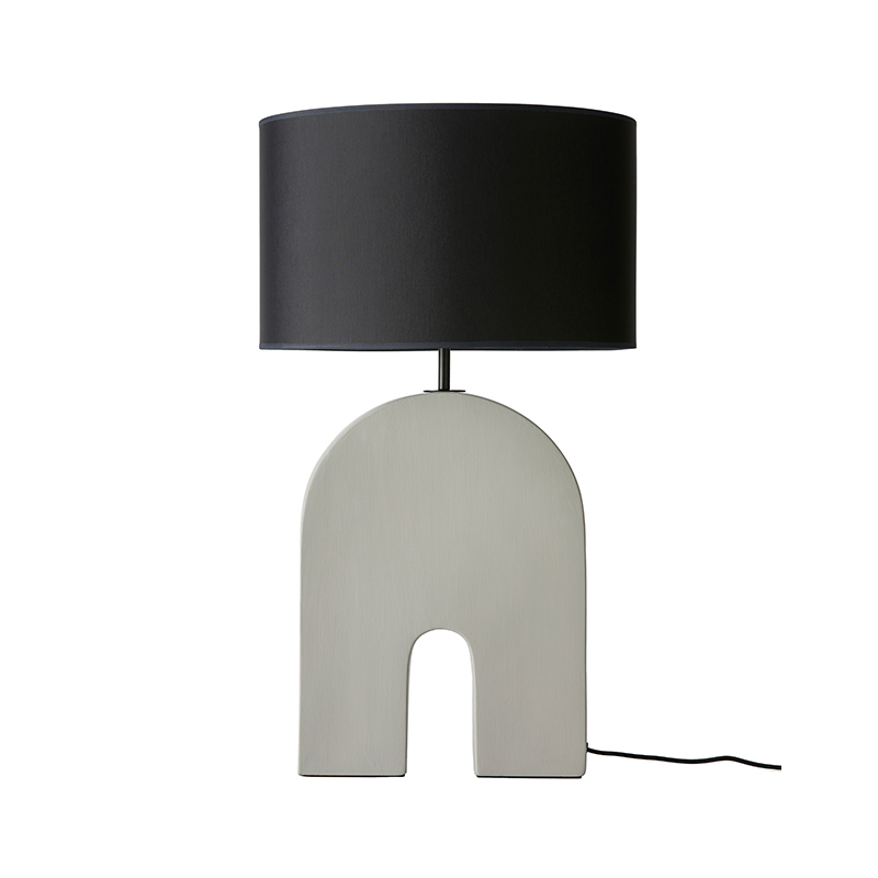 Aromas Home Table Lamp in Ash Grey Set of Two by Pepe Fornas Olson and Baker - Designer & Contemporary Sofas, Furniture - Olson and Baker showcases original designs from authentic, designer brands. Buy contemporary furniture, lighting, storage, sofas & chairs at Olson + Baker.