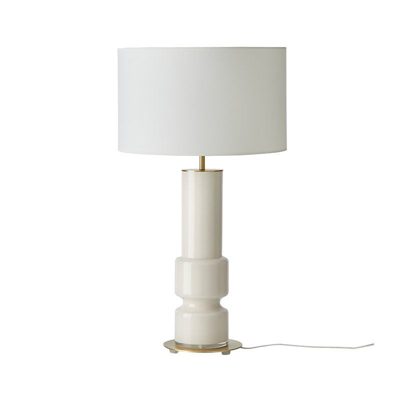 Aromas Lusa Table Lamp in Chrome Set of Two by AC Studio Olson and Baker - Designer & Contemporary Sofas, Furniture - Olson and Baker showcases original designs from authentic, designer brands. Buy contemporary furniture, lighting, storage, sofas & chairs at Olson + Baker.