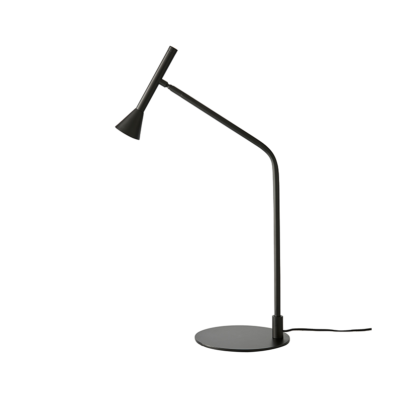 Aromas Lyb Table Lamp in Matt Black by Pepe Fornas Olson and Baker - Designer & Contemporary Sofas, Furniture - Olson and Baker showcases original designs from authentic, designer brands. Buy contemporary furniture, lighting, storage, sofas & chairs at Olson + Baker.