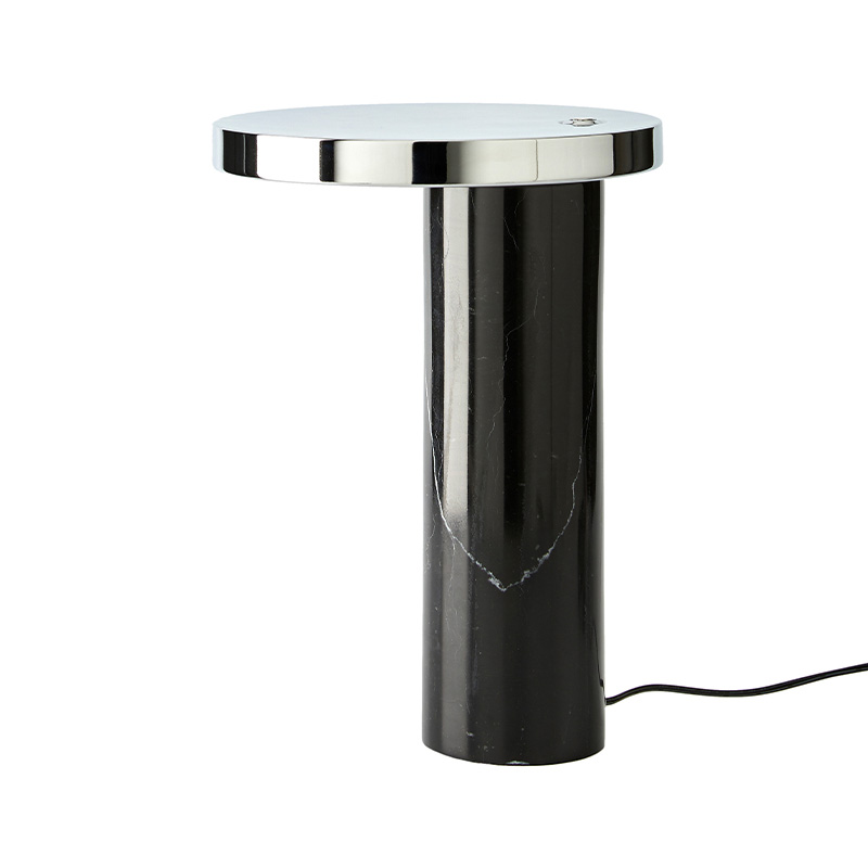 Aromas Muse Table Lamp in Chrome Set of Two by Estudio Cosi Olson and Baker - Designer & Contemporary Sofas, Furniture - Olson and Baker showcases original designs from authentic, designer brands. Buy contemporary furniture, lighting, storage, sofas & chairs at Olson + Baker.