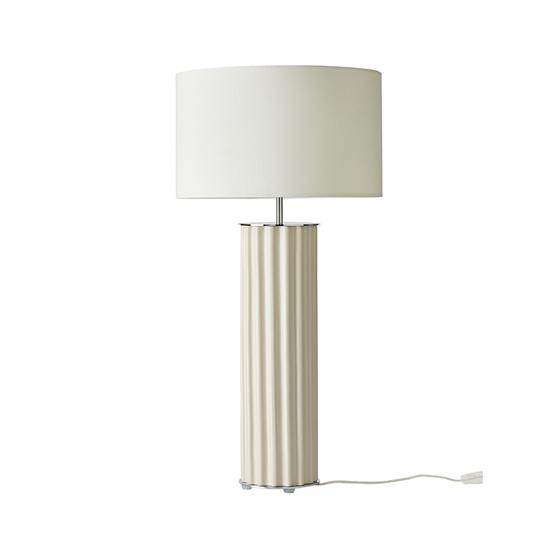 Aromas Onica Table Lamp in Taupe Set of Two by AC Studio Olson and Baker - Designer & Contemporary Sofas, Furniture - Olson and Baker showcases original designs from authentic, designer brands. Buy contemporary furniture, lighting, storage, sofas & chairs at Olson + Baker.