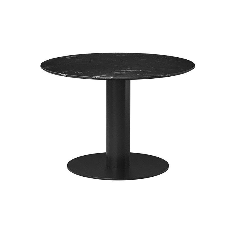 Gubi 2.0 Elliptical Round Ø110cm Dining Table by Komplot Design Olson and Baker - Designer & Contemporary Sofas, Furniture - Olson and Baker showcases original designs from authentic, designer brands. Buy contemporary furniture, lighting, storage, sofas & chairs at Olson + Baker.