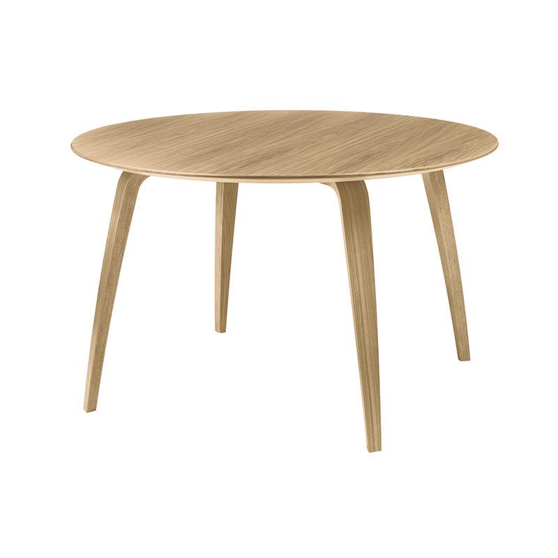 Gubi Komplot Round Ø120cm Dining Table by Komplot Design Olson and Baker - Designer & Contemporary Sofas, Furniture - Olson and Baker showcases original designs from authentic, designer brands. Buy contemporary furniture, lighting, storage, sofas & chairs at Olson + Baker.