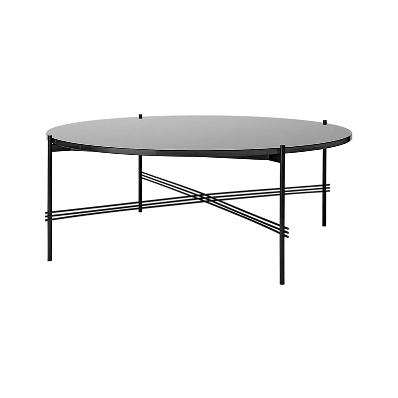Gubi TS Round Ø105cm Coffee Table by Gam Fratesi Olson and Baker - Designer & Contemporary Sofas, Furniture - Olson and Baker showcases original designs from authentic, designer brands. Buy contemporary furniture, lighting, storage, sofas & chairs at Olson + Baker.