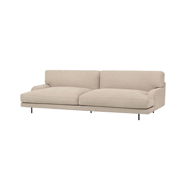 Gubi Flaneur 2.5 Seat Sofa by GamFratesi Olson and Baker - Designer & Contemporary Sofas, Furniture - Olson and Baker showcases original designs from authentic, designer brands. Buy contemporary furniture, lighting, storage, sofas & chairs at Olson + Baker.