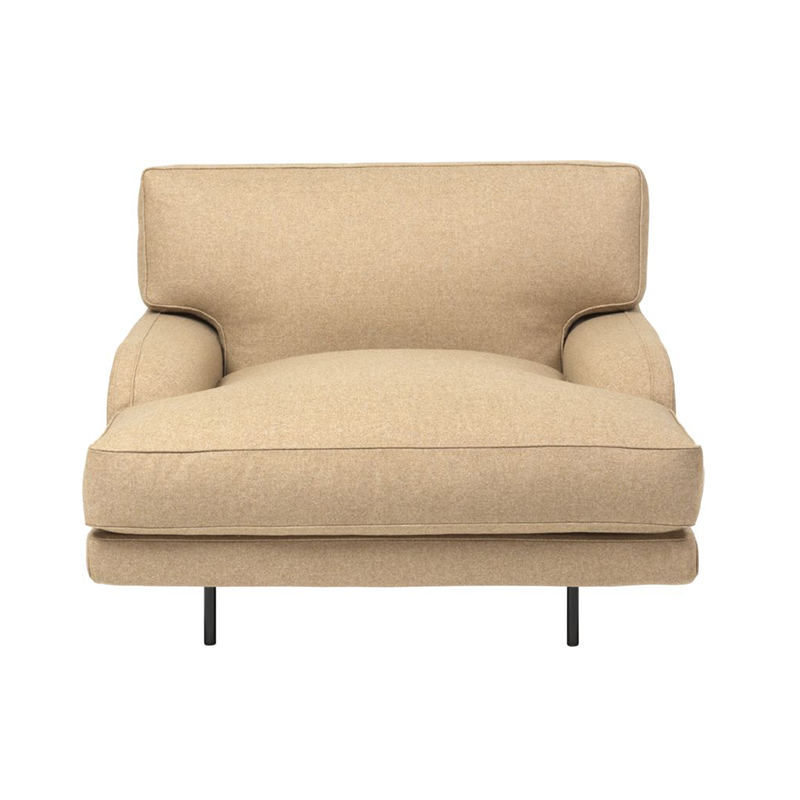 Gubi Flaneur Lounge Chair by GamFratesi Olson and Baker - Designer & Contemporary Sofas, Furniture - Olson and Baker showcases original designs from authentic, designer brands. Buy contemporary furniture, lighting, storage, sofas & chairs at Olson + Baker.