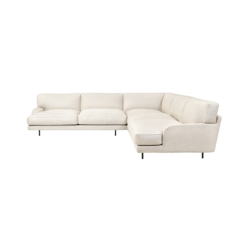 Gubi Flaneur Modular Sofa by GamFratesi Olson and Baker - Designer & Contemporary Sofas, Furniture - Olson and Baker showcases original designs from authentic, designer brands. Buy contemporary furniture, lighting, storage, sofas & chairs at Olson + Baker.