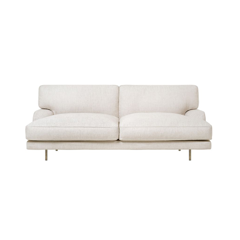 Gubi Flaneur Two Seat Sofa by GamFratesi Olson and Baker - Designer & Contemporary Sofas, Furniture - Olson and Baker showcases original designs from authentic, designer brands. Buy contemporary furniture, lighting, storage, sofas & chairs at Olson + Baker.