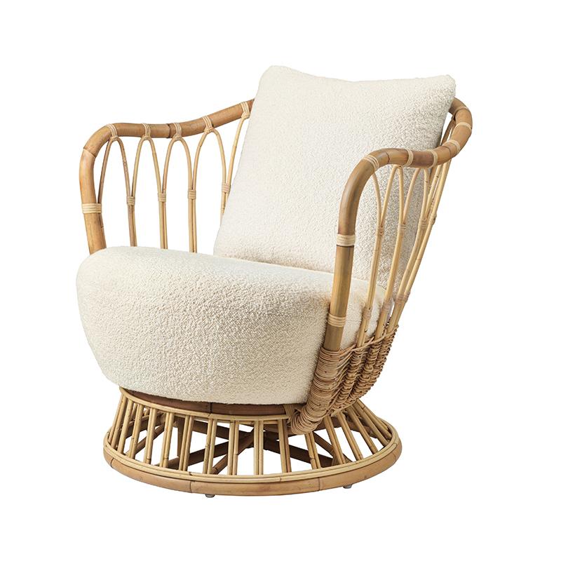 Gubi_Grace_Lounge_Chair_by_Tove_Kindt-Larsen_Karakorum_001_5 Olson and Baker - Designer & Contemporary Sofas, Furniture - Olson and Baker showcases original designs from authentic, designer brands. Buy contemporary furniture, lighting, storage, sofas & chairs at Olson + Baker.