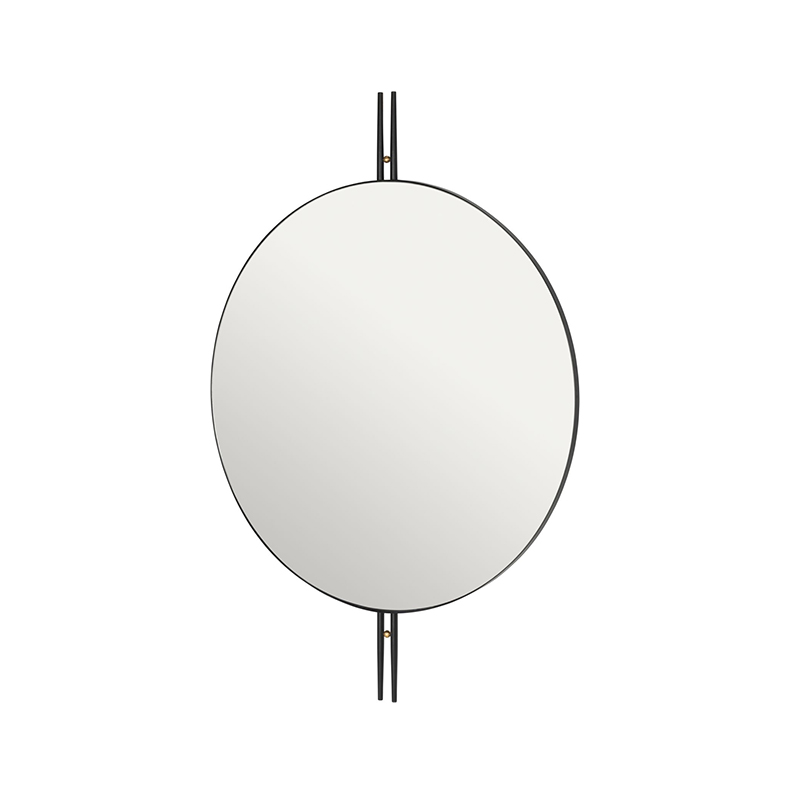 Gubi_OIO_Wall_Mirror_by_GamFratesi_2 Olson and Baker - Designer & Contemporary Sofas, Furniture - Olson and Baker showcases original designs from authentic, designer brands. Buy contemporary furniture, lighting, storage, sofas & chairs at Olson + Baker.