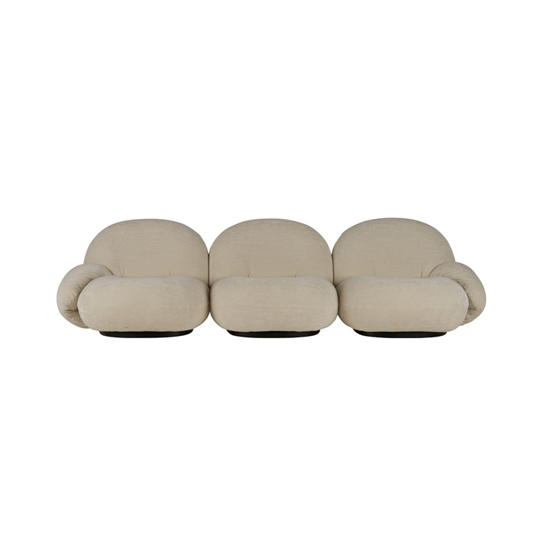 Gubi Pacha Three Seat Sofa with Armrest by Pierre Paulin Olson and Baker - Designer & Contemporary Sofas, Furniture - Olson and Baker showcases original designs from authentic, designer brands. Buy contemporary furniture, lighting, storage, sofas & chairs at Olson + Baker.