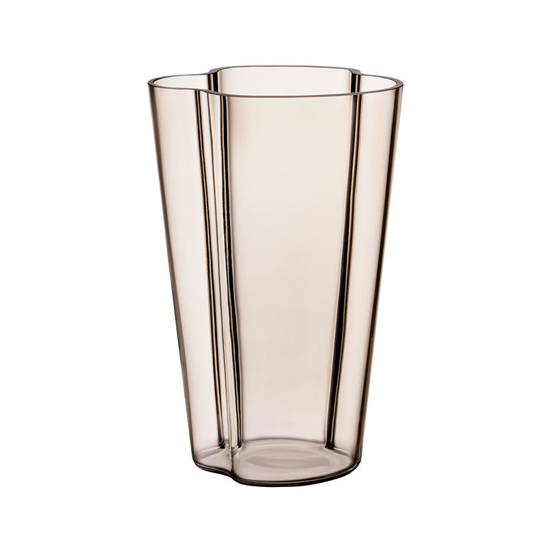 Iittala Aalto 251mm Glass Vase by Alvar Aalto Olson and Baker - Designer & Contemporary Sofas, Furniture - Olson and Baker showcases original designs from authentic, designer brands. Buy contemporary furniture, lighting, storage, sofas & chairs at Olson + Baker.