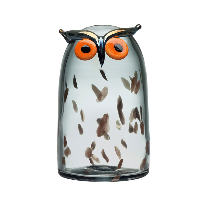Iittala Birds by Toikka 110x175mm Long-eared Owl by Oiva Toikka Olson and Baker - Designer & Contemporary Sofas, Furniture - Olson and Baker showcases original designs from authentic, designer brands. Buy contemporary furniture, lighting, storage, sofas & chairs at Olson + Baker.