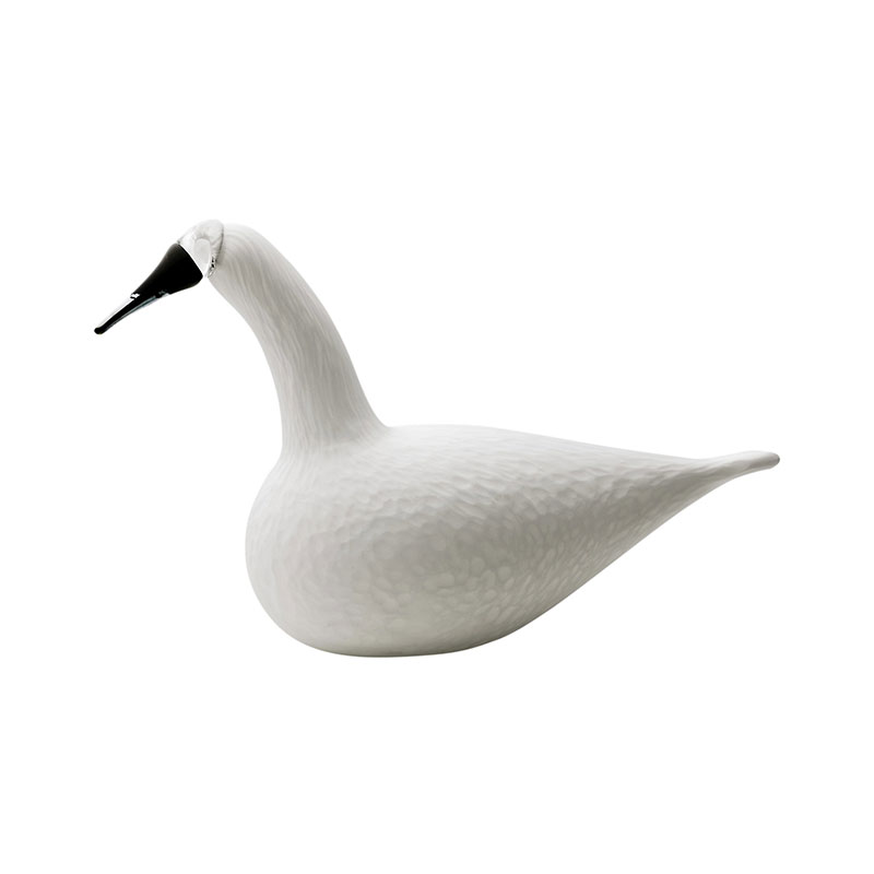 Iittala Birds by Toikka 330x210mm Whooper Swan by Oiva Toikka Olson and Baker - Designer & Contemporary Sofas, Furniture - Olson and Baker showcases original designs from authentic, designer brands. Buy contemporary furniture, lighting, storage, sofas & chairs at Olson + Baker.