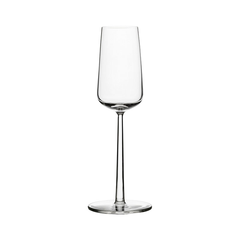 Iittala Essence 210ml Champagne Glass – Set of Twelve by Alfredo Häberli Olson and Baker - Designer & Contemporary Sofas, Furniture - Olson and Baker showcases original designs from authentic, designer brands. Buy contemporary furniture, lighting, storage, sofas & chairs at Olson + Baker.