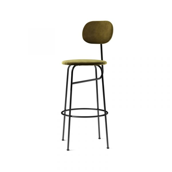 Afteroom Fully Upholstered Bar Stool Plus