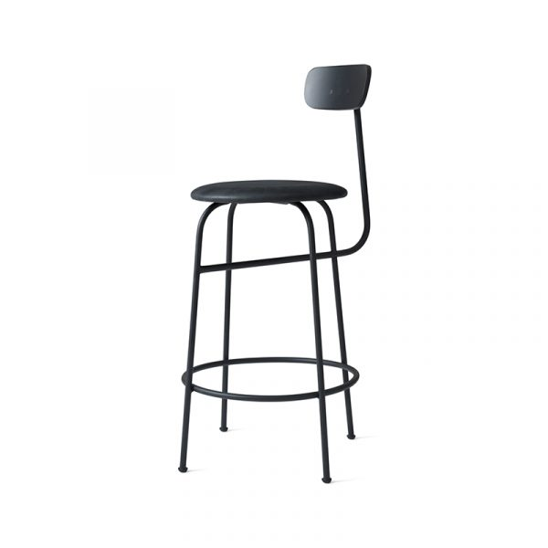 Afteroom Counter Stool with Upholstered Seat
