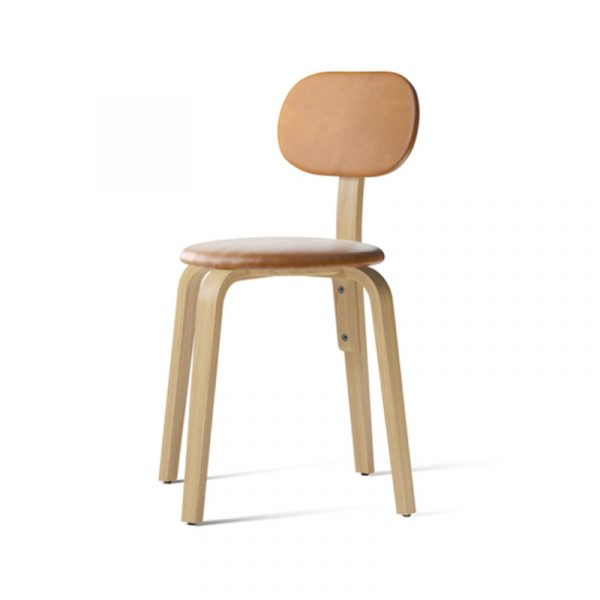 Afteroom Fully Upholstered Plywood Dining Chair