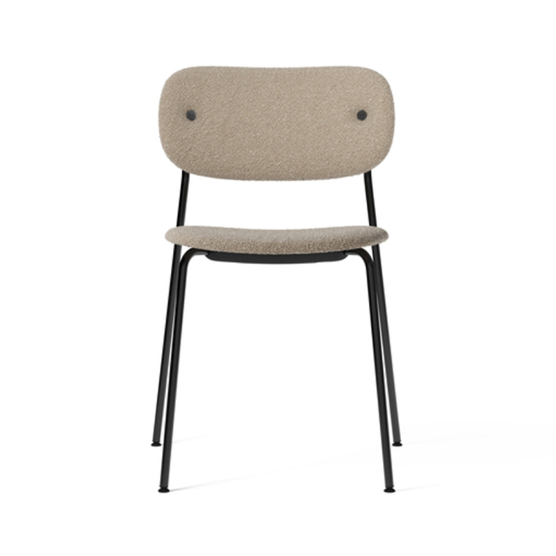 Menu Co Fully Upholstered Dining Chair - Set of Two by Norm Architects Olson and Baker - Designer & Contemporary Sofas, Furniture - Olson and Baker showcases original designs from authentic, designer brands. Buy contemporary furniture, lighting, storage, sofas & chairs at Olson + Baker.