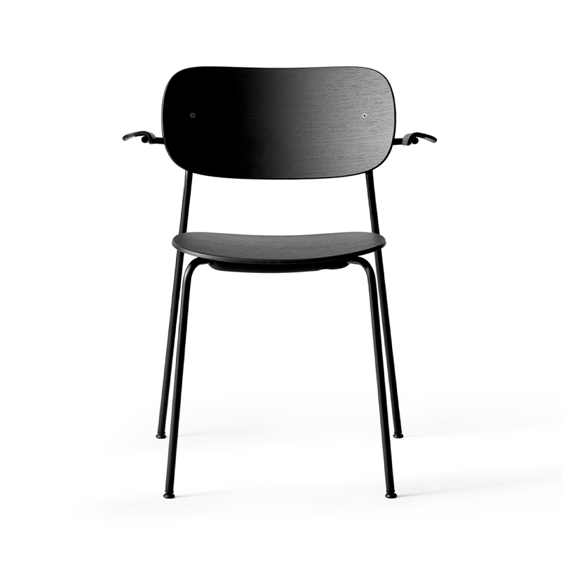 Menu Co Dining Chair with Armrests - Set of Two by Norm Architects Olson and Baker - Designer & Contemporary Sofas, Furniture - Olson and Baker showcases original designs from authentic, designer brands. Buy contemporary furniture, lighting, storage, sofas & chairs at Olson + Baker.