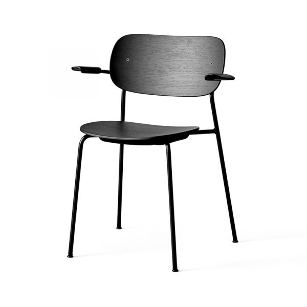 Co Dining Chair with Armrests - Set of Two