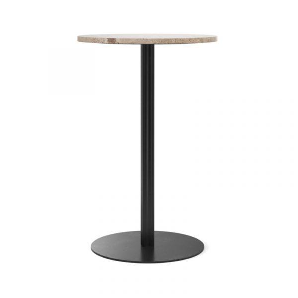 Harbour Column Round Café Table with Pedestal Base