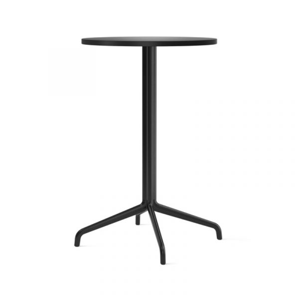 Harbour Column Round Café Table with Four Star Base