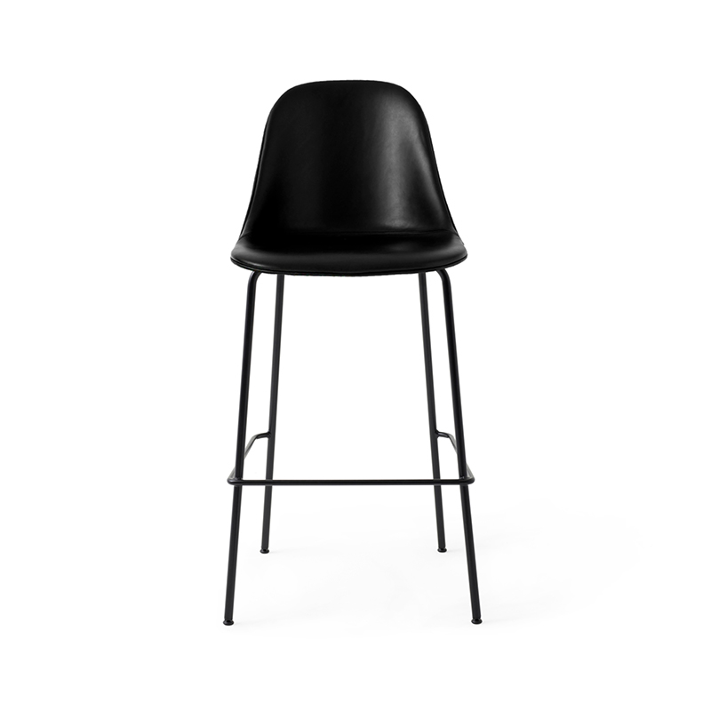 Menu Harbour Fully Upholstered Bar Side Stool by Norm Architects Olson and Baker - Designer & Contemporary Sofas, Furniture - Olson and Baker showcases original designs from authentic, designer brands. Buy contemporary furniture, lighting, storage, sofas & chairs at Olson + Baker.