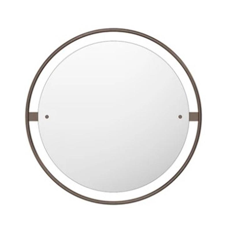 Menu Nimbus Ø60cm Circular Mirror by Kroeyer-Saetter-Lassen Olson and Baker - Designer & Contemporary Sofas, Furniture - Olson and Baker showcases original designs from authentic, designer brands. Buy contemporary furniture, lighting, storage, sofas & chairs at Olson + Baker.