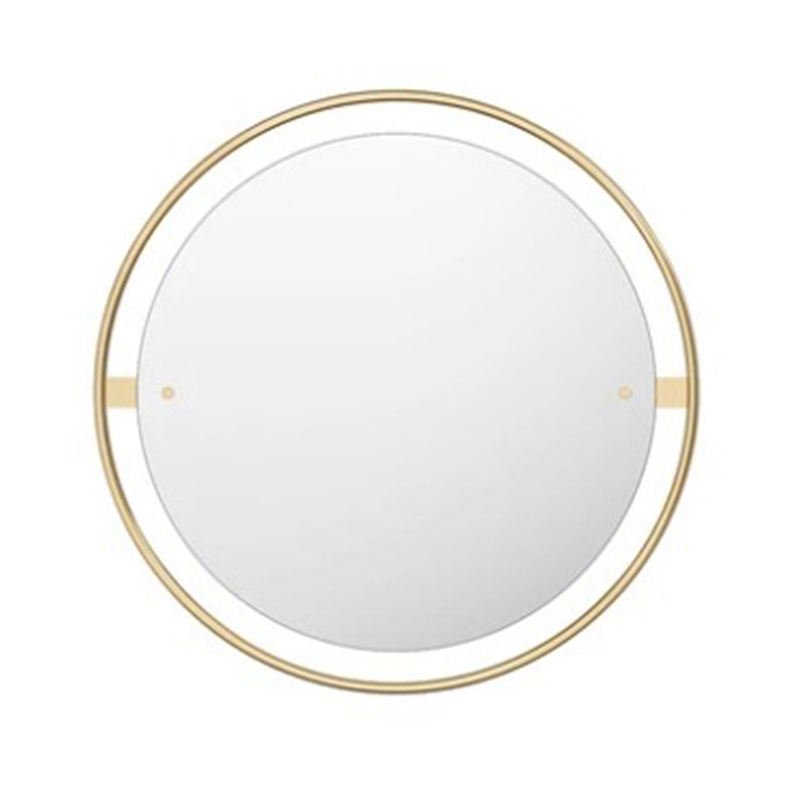 Menu Nimbus Ø60cm Circular Mirror by Kroeyer-Saetter-Lassen Olson and Baker - Designer & Contemporary Sofas, Furniture - Olson and Baker showcases original designs from authentic, designer brands. Buy contemporary furniture, lighting, storage, sofas & chairs at Olson + Baker.