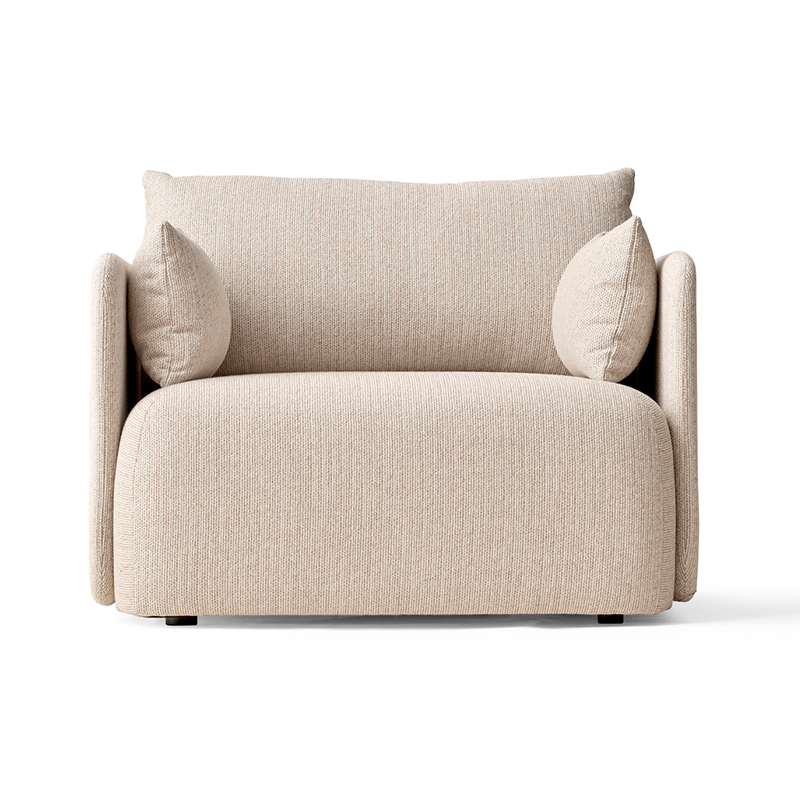 Menu Offset Armchair by Norm Architects Olson and Baker - Designer & Contemporary Sofas, Furniture - Olson and Baker showcases original designs from authentic, designer brands. Buy contemporary furniture, lighting, storage, sofas & chairs at Olson + Baker.