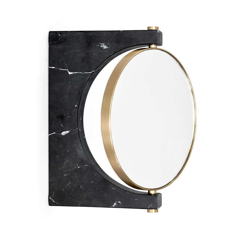 Menu-Pepe Marble Mirror, Wall-by-Studio Pepe-Black Marble-02 Olson and Baker - Designer & Contemporary Sofas, Furniture - Olson and Baker showcases original designs from authentic, designer brands. Buy contemporary furniture, lighting, storage, sofas & chairs at Olson + Baker.