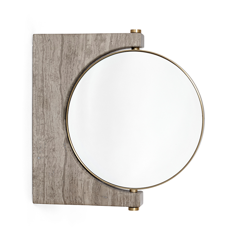 Menu Pepe Marble Wall Mirror by Studio Pepe Olson and Baker - Designer & Contemporary Sofas, Furniture - Olson and Baker showcases original designs from authentic, designer brands. Buy contemporary furniture, lighting, storage, sofas & chairs at Olson + Baker.