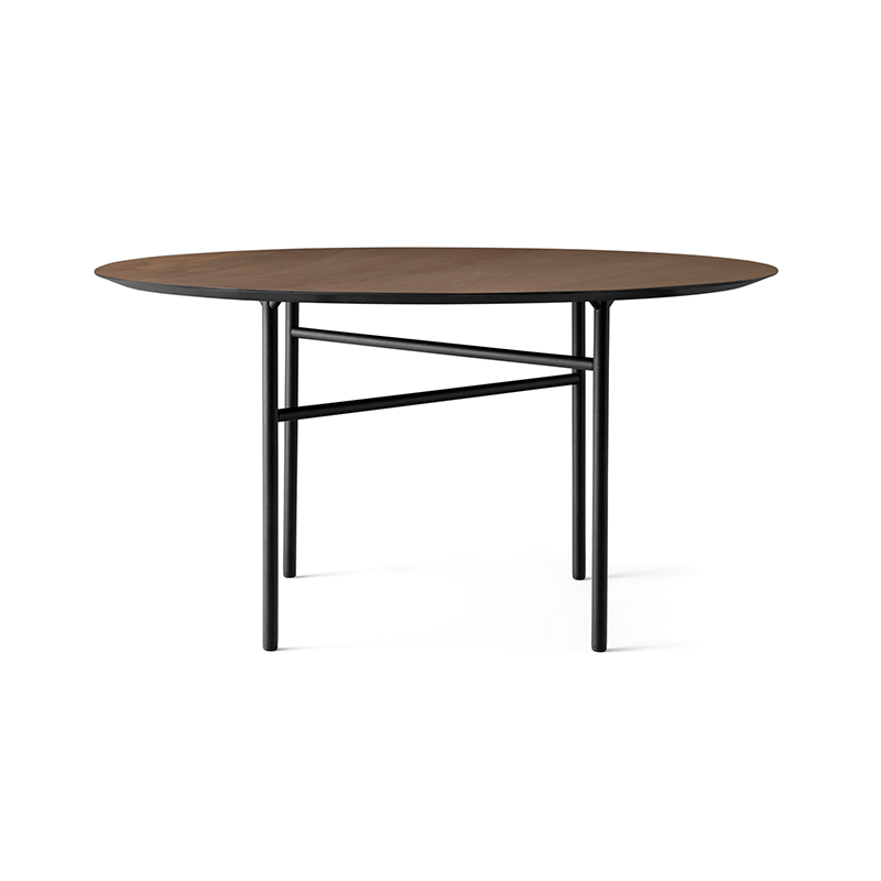Menu Snaregade Ø138cm Round Dining Table by Norm Architects Olson and Baker - Designer & Contemporary Sofas, Furniture - Olson and Baker showcases original designs from authentic, designer brands. Buy contemporary furniture, lighting, storage, sofas & chairs at Olson + Baker.