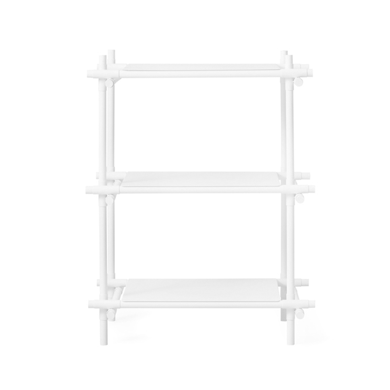 Menu Stick Three Rack Shelving System by Jan & Henry Olson and Baker - Designer & Contemporary Sofas, Furniture - Olson and Baker showcases original designs from authentic, designer brands. Buy contemporary furniture, lighting, storage, sofas & chairs at Olson + Baker.