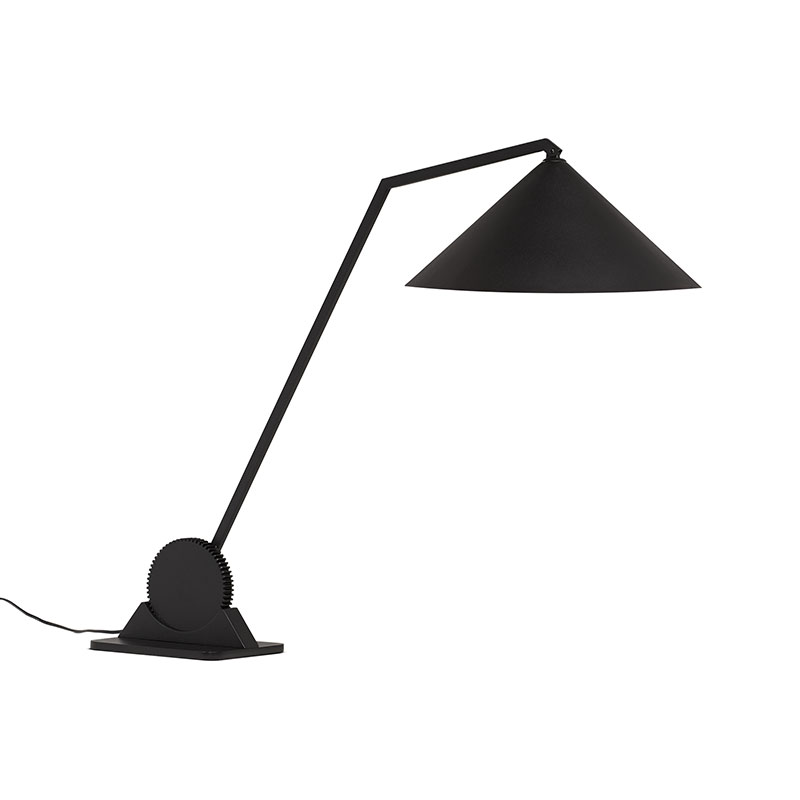 Northern Gear Table Lamp in Black by Johan Lindstén Olson and Baker - Designer & Contemporary Sofas, Furniture - Olson and Baker showcases original designs from authentic, designer brands. Buy contemporary furniture, lighting, storage, sofas & chairs at Olson + Baker.