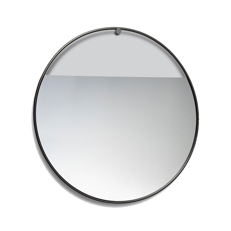 Northern Peek Large Circular Wall Mirror by Elina Ulvio Olson and Baker - Designer & Contemporary Sofas, Furniture - Olson and Baker showcases original designs from authentic, designer brands. Buy contemporary furniture, lighting, storage, sofas & chairs at Olson + Baker.