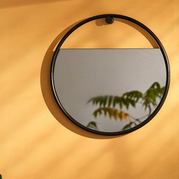 Peek Large Circular Wall Mirror