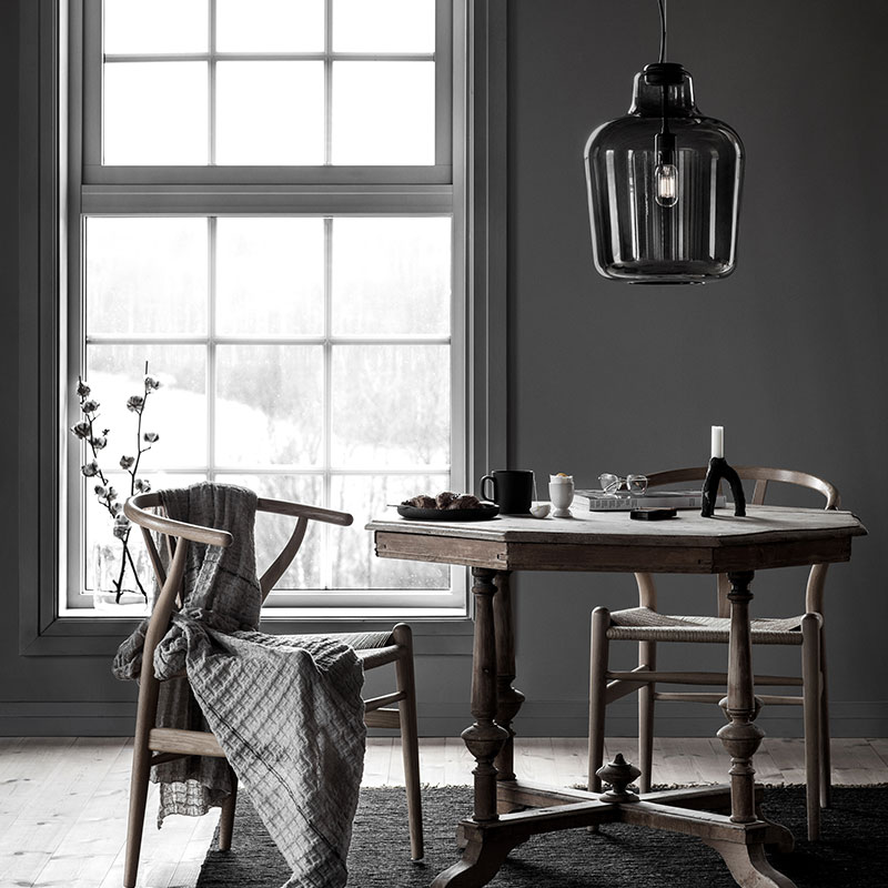 Northern_Say_My_Name_Pendant_Lamp_by_Morten_and_Jonas_Lifeshot_01 Olson and Baker - Designer & Contemporary Sofas, Furniture - Olson and Baker showcases original designs from authentic, designer brands. Buy contemporary furniture, lighting, storage, sofas & chairs at Olson + Baker.