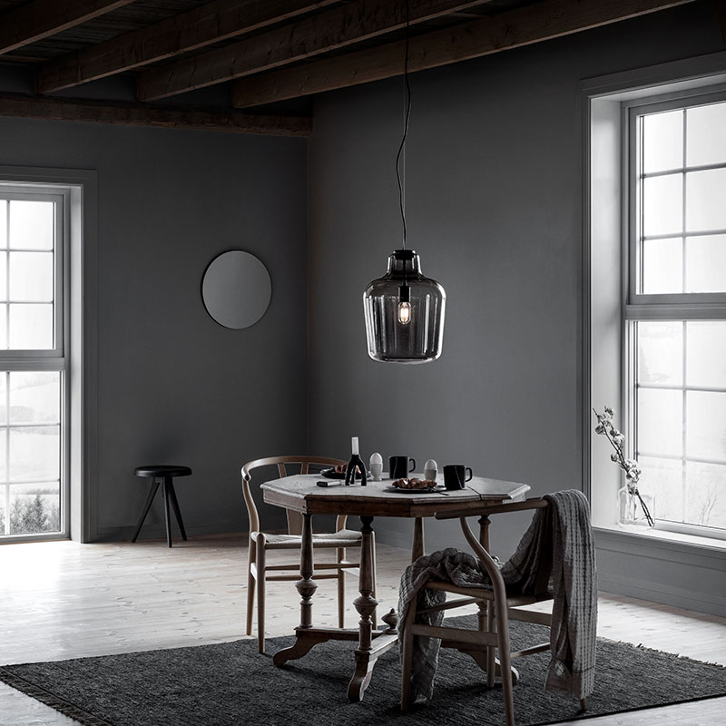 Northern_Say_My_Name_Pendant_Lamp_by_Morten_and_Jonas_Lifeshot_02 Olson and Baker - Designer & Contemporary Sofas, Furniture - Olson and Baker showcases original designs from authentic, designer brands. Buy contemporary furniture, lighting, storage, sofas & chairs at Olson + Baker.