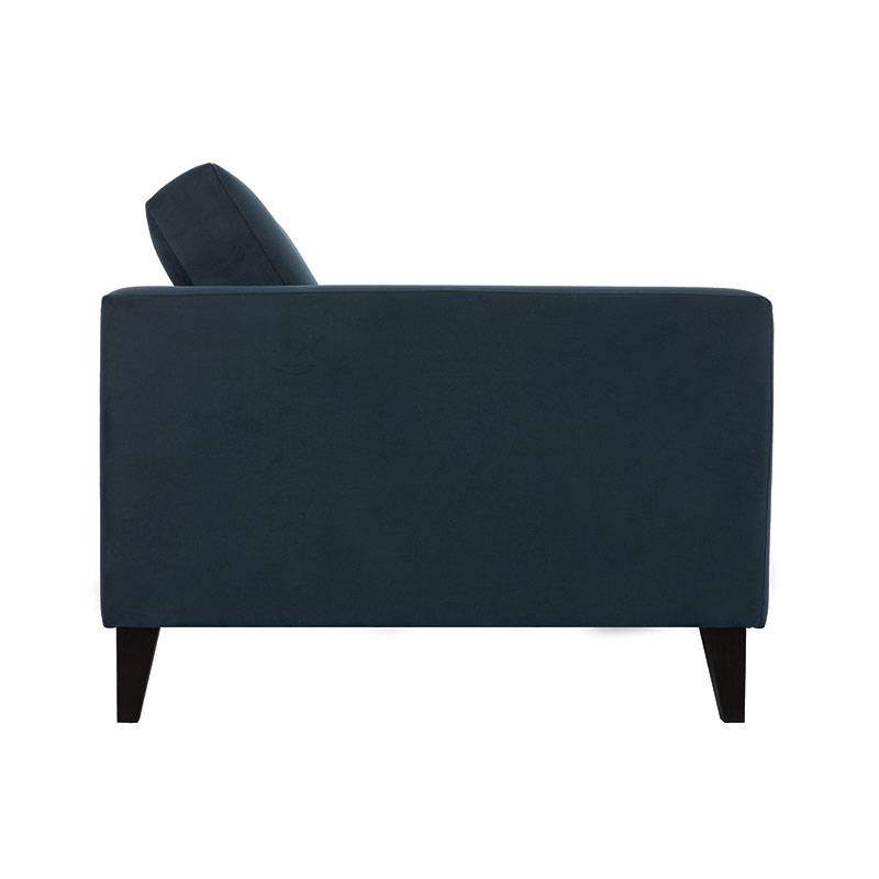 Olson-and-Baker-Franklin-Sofa-Warwick-Plush-Velvet-Navy-Lifeshot-003 Olson and Baker - Designer & Contemporary Sofas, Furniture - Olson and Baker showcases original designs from authentic, designer brands. Buy contemporary furniture, lighting, storage, sofas & chairs at Olson + Baker.