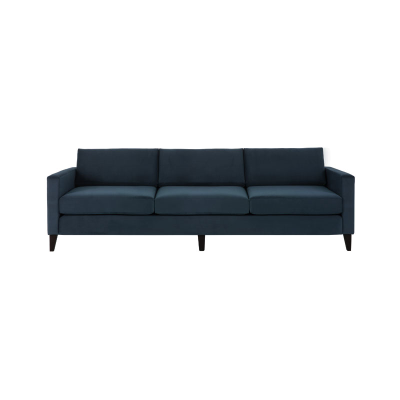 Olson and Baker Franklin Three Seat Sofa by Olson and Baker Studio Olson and Baker - Designer & Contemporary Sofas, Furniture - Olson and Baker showcases original designs from authentic, designer brands. Buy contemporary furniture, lighting, storage, sofas & chairs at Olson + Baker.
