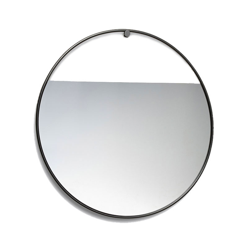 Peek_Large_Circular_Mirror_by_Elina_Ulvio_Northern_Lighting Olson and Baker - Designer & Contemporary Sofas, Furniture - Olson and Baker showcases original designs from authentic, designer brands. Buy contemporary furniture, lighting, storage, sofas & chairs at Olson + Baker.